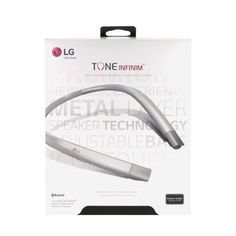 LG Tone Infinim HBS-920 Bluetooth Adjustable Bass Wireless Headphones  in Silver #LG
