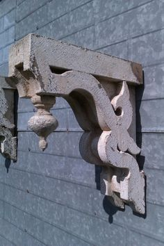 Antique Architectural Corbels, One Pair,