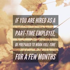 If you are hired as a part-time employee, be prepared to work full-time for a few months. ⠀ __⠀ Navigating a new ministry will certainly consume all of you for a little while. Not to mention, the best way to understand your job is diving in.⠀ __⠀ To read the full post, and for more kingdom building, church growing, people leading tips, check out our website! __⠀ #everythingchurch #leadership #pastors #church #ministry #podcast #itunes #churchleadership #churchstaff #leadpastors…