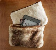 Faux Fur Pouch ($24.50)