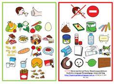 """Póster """"Se come-no se come"""" para niños con trastorno de la conducta alimentaria (pica)"""