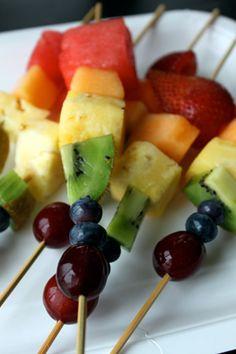 Rainbow Fruit Kabobs [video post]