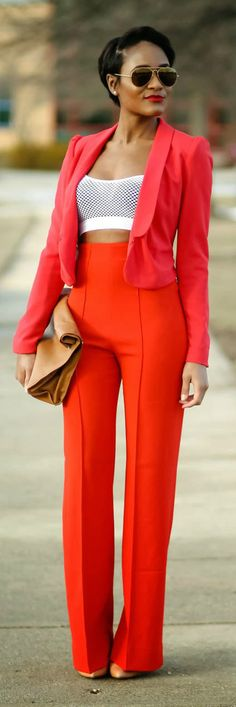 """My style Icon. I love everything about this amazing woman. This is how I would dress every day if I could! The Daileigh. Perfection. Every single time. """"Red - The Daileigh"""""""