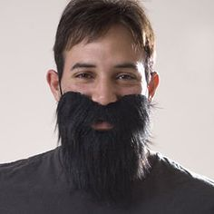 Free Shipping Fake Facial Hair Beard Mustache Moustache Facial Hair Costume Fancy Dress Party Good Companions For Children As Well As Adults Tool Parts