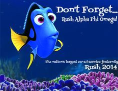 Posters I made for APO pixar themed recruitment (rush)