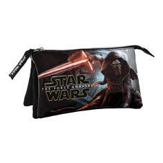 Estuche tres compartimentos Star Wars Episodio VII: El Despertar de la Fuerza Joumma Bags