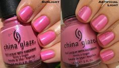 China Glaze Operation Colour for Fall 2008/Pink Underground