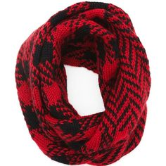 The North Circular - Eternity Scarf Lumberjack ($92) ❤ liked on Polyvore featuring men's fashion, men's accessories and men's scarves