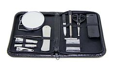 Men's Grooming Travel Set - Stay Well Groomed At Home and On The Go With This 12-piece Men's Travel Grooming Set – Mens Grooming Kit Featuring Tools In A Convenient Case. For product & price info go to:  https://beautyworld.today/products/mens-grooming-travel-set-stay-well-groomed-at-home-and-on-the-go-with-this-12-piece-mens-travel-grooming-set-mens-grooming-kit-featuring-tools-in-a-convenient-case/