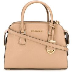 Michael Michael Kors Medium Harper Tote ($398) ❤ liked on Polyvore featuring bags, handbags, tote bags, handbags totes, genuine leather tote, leather man bags, leather tote purse and hand bags