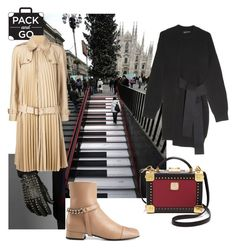 """""""Pack and Go: Milan"""" by skad183 ❤ liked on Polyvore featuring мода, Gucci, Proenza Schouler, MCM, women's clothing, women, female, woman, misses и juniors"""