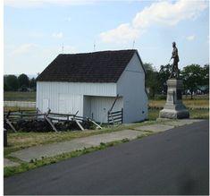 Then & Now Bryan Farm, Gettsyburg American Civil War, American History, Gettysburg National Military Park, Gettysburg Battlefield, Civil War Art, Confederate Monuments, Civil Wars, Memorial Museum, Civil War Photos