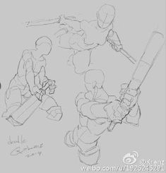 Drawing The Human Figure - Tips For Beginners - Drawing On Demand Action Pose Reference, Body Reference Drawing, Figure Drawing Reference, Art Reference Poses, Character Poses, Character Art, Character Design, Anatomy Poses, Anatomy Art