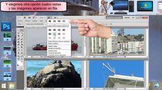 Como se hace para abrir varias ventanas a la misma vez con Photoshop #GanarDineroExtra