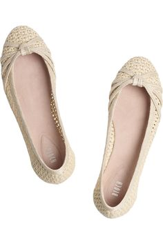 196d7f259e7 bloch raffia ballet flats Cute Flats, Cute Shoes, Me Too Shoes, Beige Flats