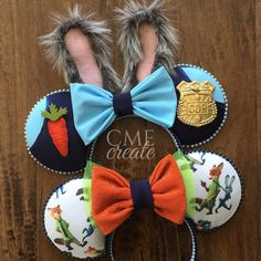 Zootopia Mickey ears