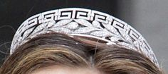 The Royal Order of Sartorial Splendor: Tiara Thursday: The Marichalar Tiara(neoclassical)worn by Elena of Spain. Given to her by her husband's family(now divorced)