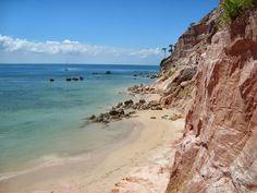 Paredão de argila na Praia da Gamboa em Morro de São Paulo (Bahia), uma das paradas do Passeio Ponta do Curral. http://www.anrdoezrs.net/click-7563550-11457287