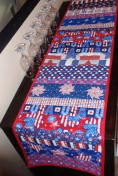 DIY: 4th of July Table Runner