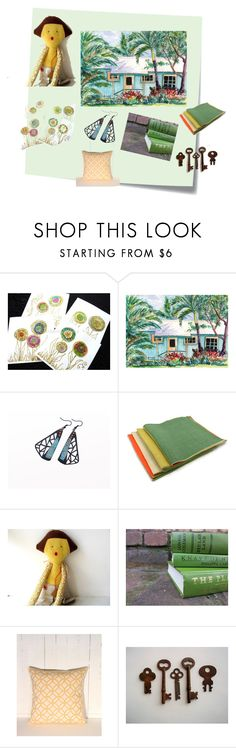"""""""Noa's Plantation House"""" by ohziedesigns ❤ liked on Polyvore featuring Post-It and vintage"""