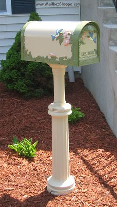 Be nice to get a new mailbox.  Someone ran into ours last year with their car and it's been a bit wobbly since...