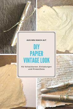 wie kann man papier alt aussehen lassen anleitung dekoking 2 basteln papier alter und. Black Bedroom Furniture Sets. Home Design Ideas