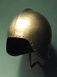 Sallet - Typical light Italian celata (sallet) of the later 15th century.