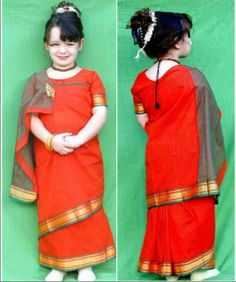 Different styles of Indian Saree Draping - How to drape a Saree in Coorgi Style?