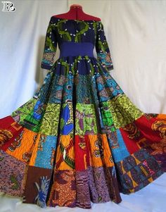20 Ankara Maxi Gown to wear for anytime - Reny styles African Dresses For Women, African Print Dresses, African Fashion Dresses, African Attire, African Wear, African Women, African Prints, African Inspired Fashion, African Print Fashion