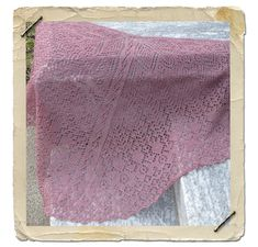 This is the Mystery Shawl #26.
