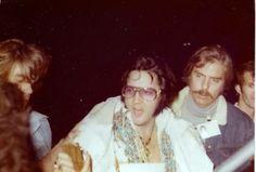 Elvis With Dick Grob Former Head Of Elvis Security
