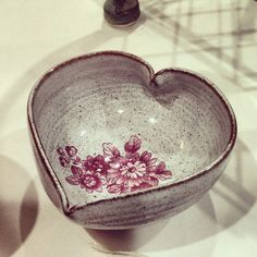 Heart shaped bowl via Eskimo Blue Boutique. Click on the image to see more!