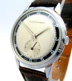 Vintage-Girard-Perregaux-nickelchrome-case-steel-snap-back-two-tone-dial