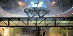 backstage @ scalaria Do-X teatro Spaceship, Backstage, Theater, Salzburg Austria, Space Ship, Spacecraft, Spaceships, Craft Space, Space Shuttle