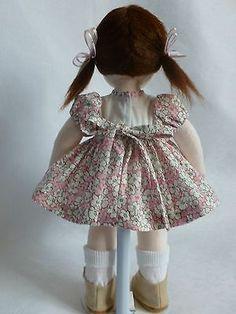 BETH, a 14 ins; OOAK handmade cloth/rag doll by Brenda Brightmore. | eBay