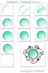 Как рисовать камни поэтапно
