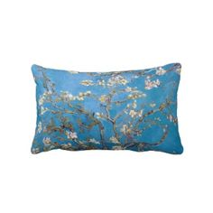 SOLD! - Branches with Almond Blossom Van Gogh Throw Pillow