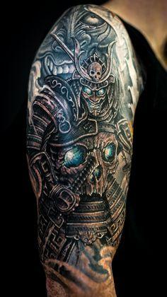 sleeve tattoos samurai - Google Search