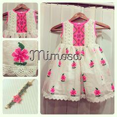 Frocks For Girls, Dresses Kids Girl, Toddler Girl Outfits, Kids Outfits, Baby Dress Design, Frock Design, Baby Frock Pattern, Kids Ethnic Wear, Kids Frocks Design