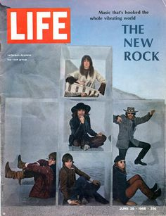 The Jefferson Airplane, Life Magazine, June 28, 1968