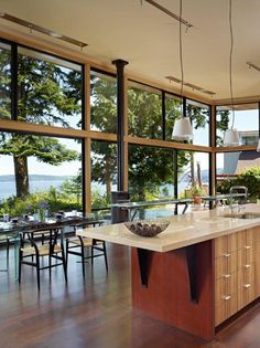 or maybe this kitchen in my vacation home instead? - desiretoinspire.net