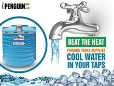 Now get cool purified water throughout the season without any extra effort. #PenguinTank keeps your water cool & fresh with its UV protected outer layer.