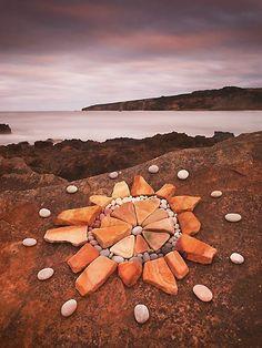 Mandala de pedres
