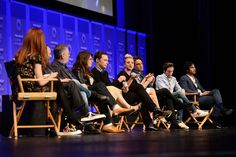 Jim Parsons Photos - (L-R) Moderator Alie Ward, executive producers Chuck Lorre, Steven Molaro, Bill Prady, actors Mayim Bialik, Jim Parsons, Kaley Cuoco, Johnny Galecki, Simon Helberg, and Kunal Nayyar attend The Paley Center For Media's 33rd Annual PALEYFEST Los Angeles ÔThe Big Bang Theory' at Dolby Theatre on March 16, 2016 in Hollywood, California. - Jim Parsons Photos - 262 of 1461