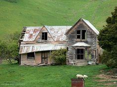 poemswednesday haiku abandoned cottages nelson new zealand
