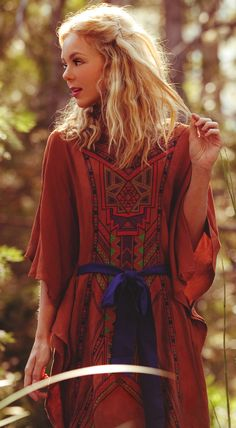 Flying Tomato Women's Embroidered Cape Dress #tribal #Boho #hippie