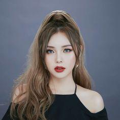 Pony – 박혜민 – 포니 – Park Hye Min Ulzzang – Korean makeup artist – Pony b… - Beauty Korean Natural Makeup, Korean Makeup Tips, Korean Makeup Look, Korean Makeup Tutorials, Asian Makeup, Korean Beauty, Asian Beauty, Pony Makeup, Hair Makeup