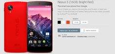 BRIGHT NEXUS 5 RED ARRIVE TODAY TO GOOGLE PLAY - ANDROID-DIRT GO GRAB IT BEFORE STOCK GETS EMPTY