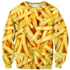 Frenchfries Sweater - Shelfies | All-Over-Print Everywhere - Designed to Make You Smile