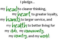 photo regarding 4-h Pledge Printable named 62 Perfect 4-H Options photos in just 2019 4 h, 4 h club, 4 h clover